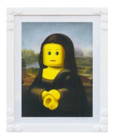 Stampa Lego Bolcato La Gioconda