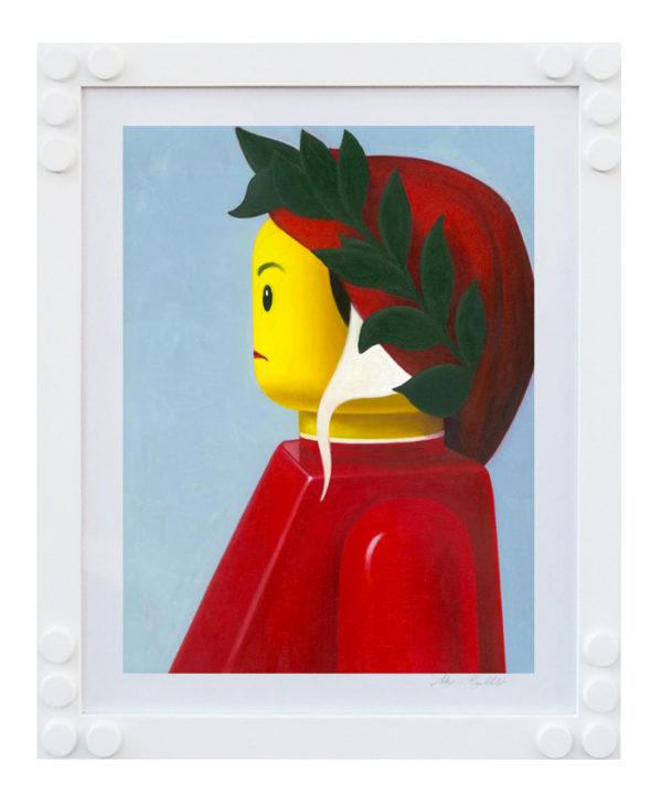 Stampa Lego Bolcato Dante Alighieri